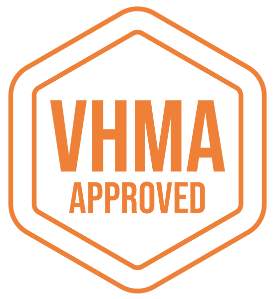 VHMA Approved Badge